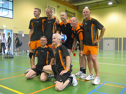 mannenvolleybal team