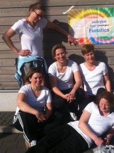 Vrouwenvolleybal team Funatics